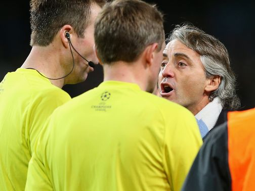 Mancini: Unhappy after Ajax draw