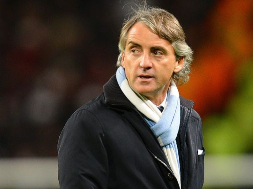 Mancini: Saw his side beat Wigan 2-0
