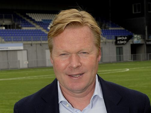 Roanld Koeman: Impressing at Feyenoord
