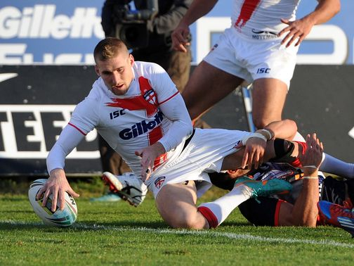 Sam Tomkins: Became England&#39;s all-time leading tryscorer