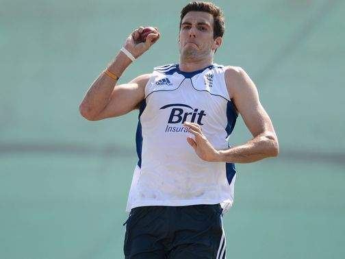 Steven Finn: Proved his fitness with a net session