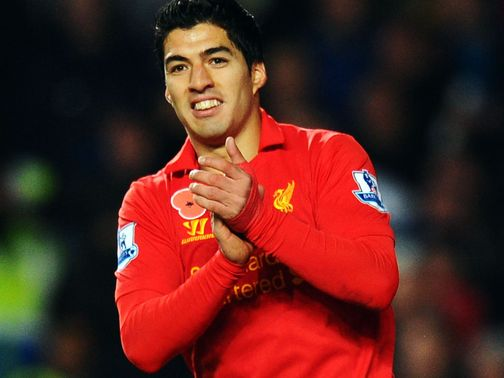Suarez: Happy at Liverpool