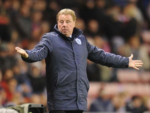 Harry Redknapp: Played down speculation