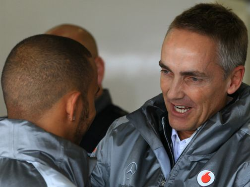 Whitmarsh: Vowed to deliver the goods