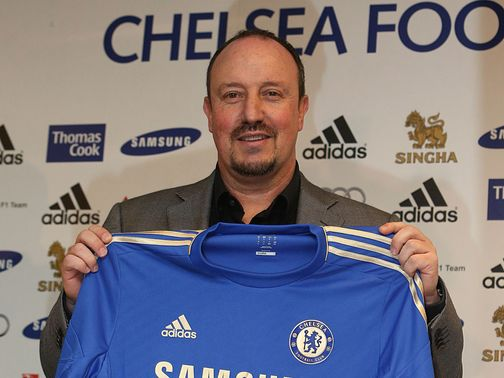 Benitez: Unveiled as Chelsea manager