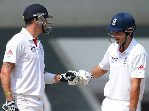 Pietersen and Cook helped England win the second Test.