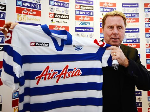 Harry Redknapp: Called in to firefight at QPR