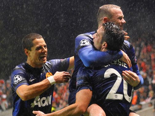 Challenge: Ferguson wants 25 goals from Hernandez, Rooney and Van Persie