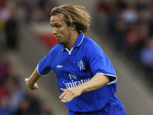 Zenden in his playing days at Chelsea