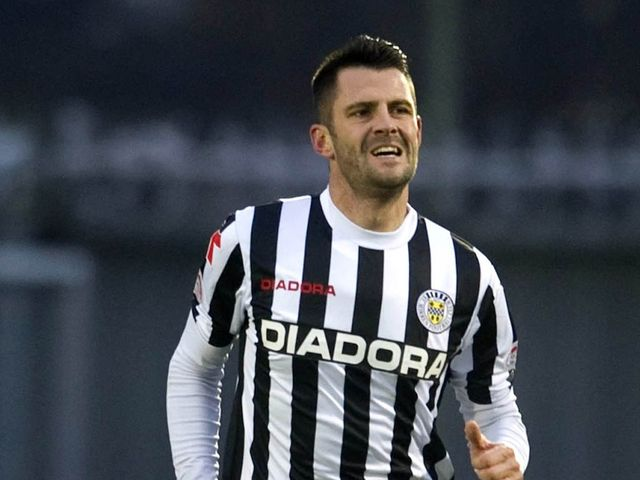 Steven Thompson: Two goals for St Mirren