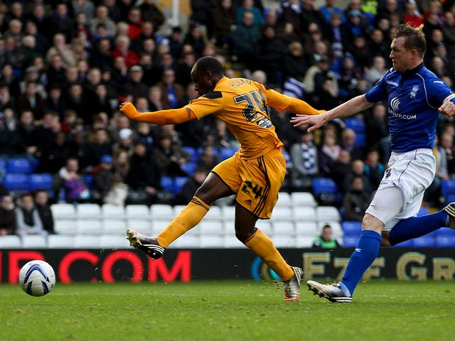Sone Aluko: Double strike for Hull