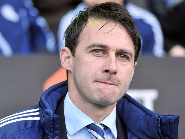 Dougie Freedman watches the action unfold