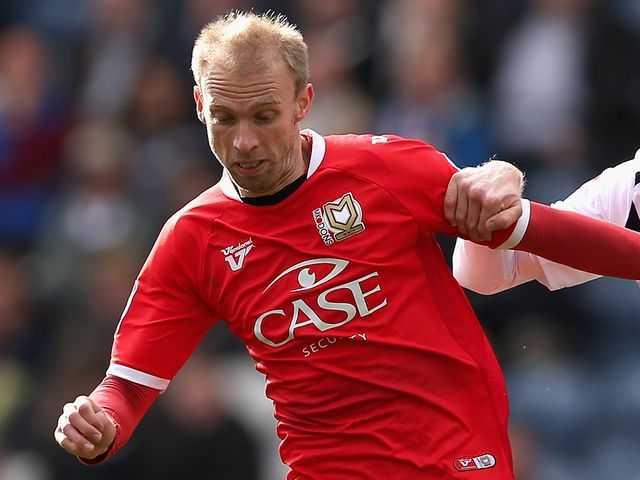 Luke Chadwick: Went close for MK Dons