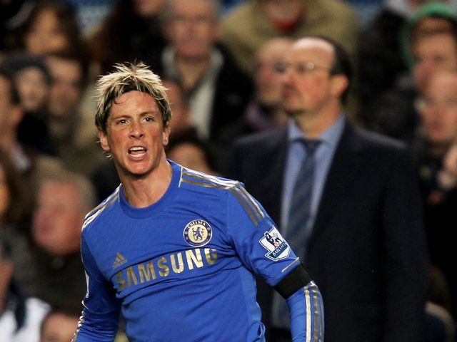 Torres was unable to help Chelsea find the net