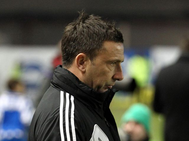 Derek McInnes: Frustrated after draw