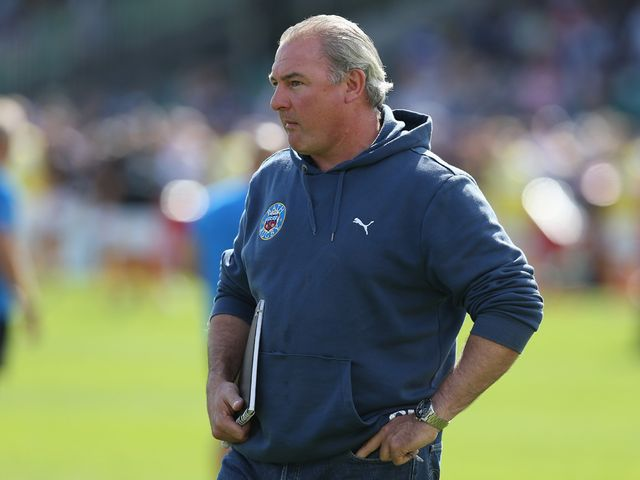 Gary Gold: Has made nine changes for the visit of Agen