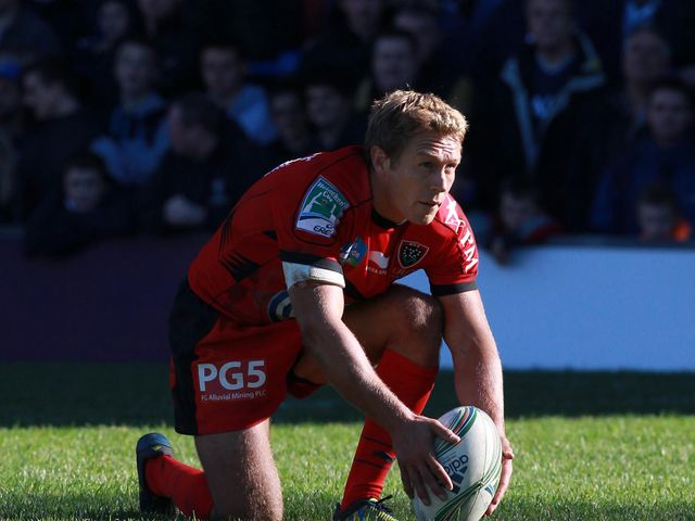 At fly-half: Jonny Wilkinson