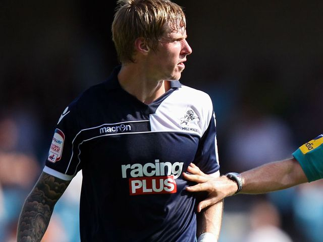 Andy Keogh: Salvaged a late point for Millwall