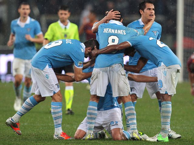 Derby delight for Lazio