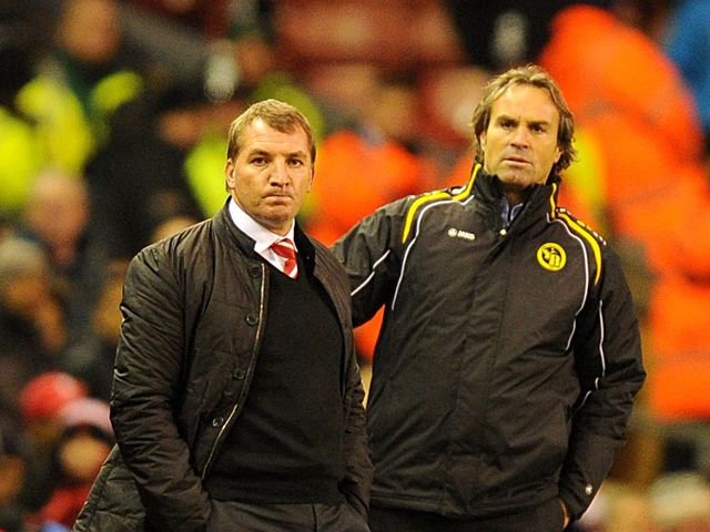 Rodgers: Watched his side draw 2-2 with Young Boys