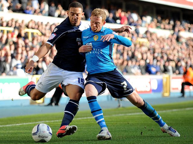 Liam Feeney takes on Paul Green