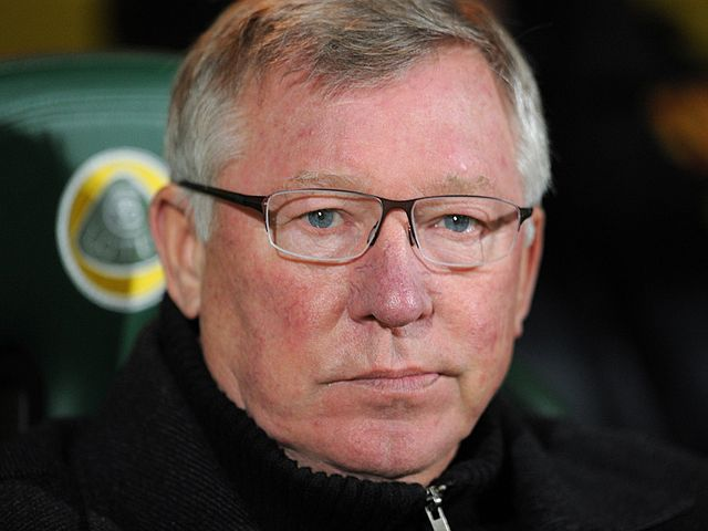 Ferguson: Saw his side beaten by Norwich
