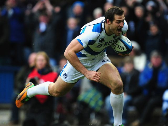 Tim Visser had given Scotland the lead