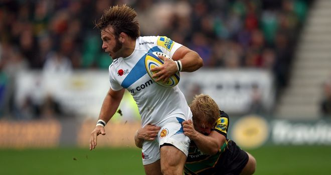 Chris Whitehead: New deal for Exeter hooker