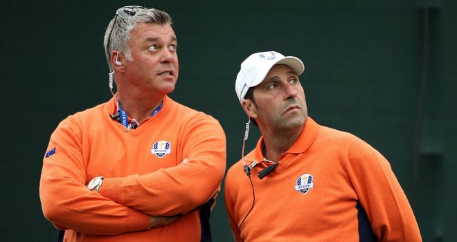 Darren Clarke: was one of Jose Maria Olazabal's assistants at Medinah for this year's Ryder Cup