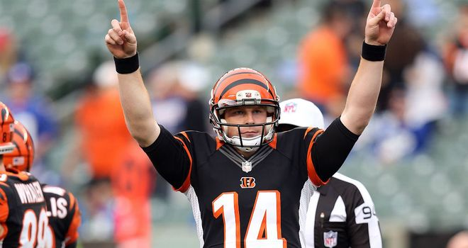 Andy Dalton: Career-best four touchdowns against Giants