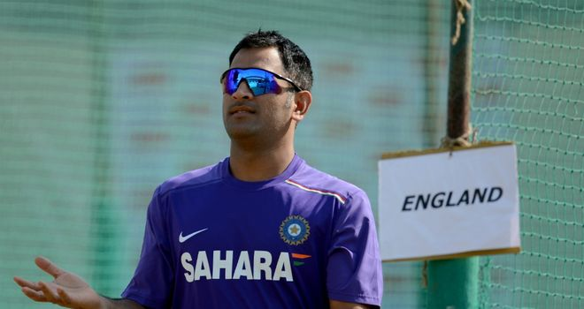 Mahendra Singh Dhoni: led India to nine-wicket win over England in series opener