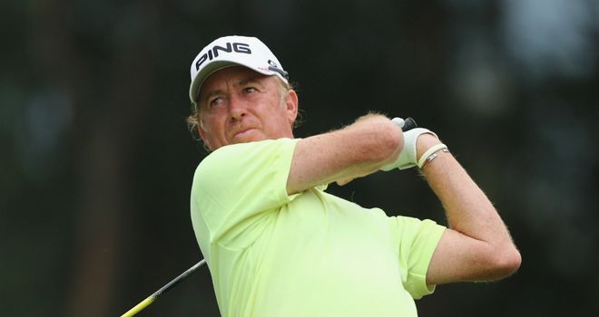 Miguel Angel Jimenez: Spaniard in contention for repeat of his win in Hong Kong five years ago