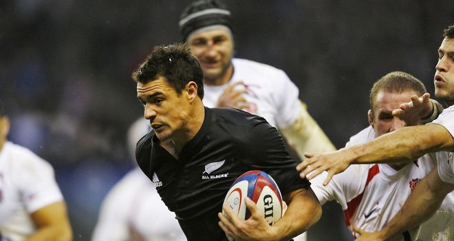 Dan Carter: Named IRB player of the year