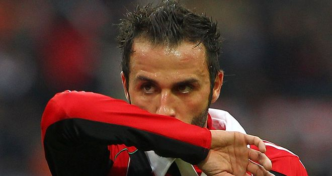 Giampaolo Pazzini: Wrapped up the scoring for AC Milan