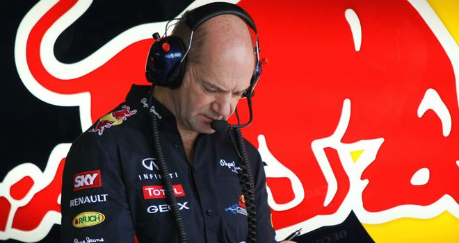 Adrian Newey: Says it's more difficult to get performance from F1 cars
