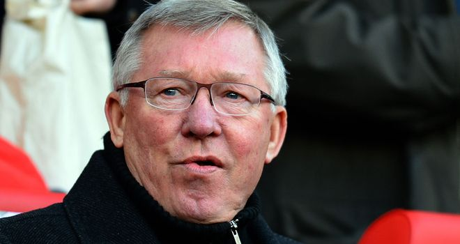Ferguson: the Scot's United side now top the Premier League table