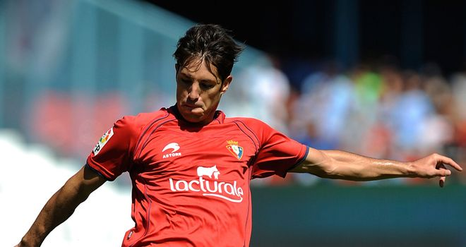 Alvaro Cejudo got the winner for Osasuna