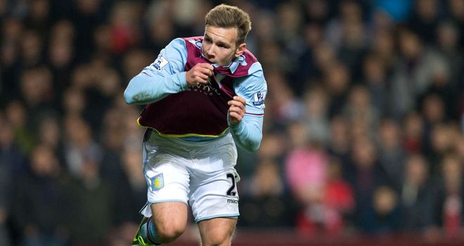 "Andreas Weimann: Says Saturday's 3-2 defeat to Manchester United felt like Villa had ""lost a cup final"""