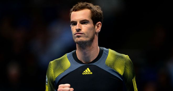 Andy Murray: Secured straight-sets victory over Jo-Wilfried Tsonga at O2 Arena