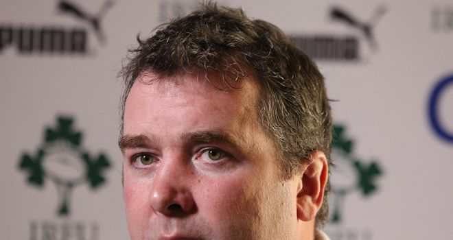 Anthony Foley: Has signed a contract extension with Munster