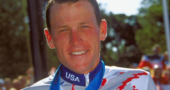Lance Armstrong: Won bronze at the 2000 Sydney Olympics