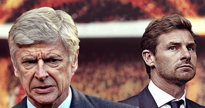 Arsene Wenger & Andre Villas-Boas: Who will come out on top?