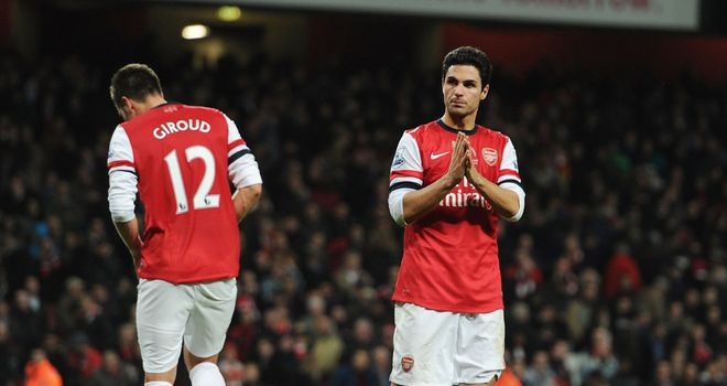 Mikel Arteta: Admits Arsenal fans have every right to be unhappy with their form