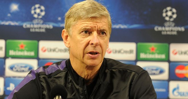 Arsene Wenger: Looking for Arsenal to book a place in the last 16 with one game to spare