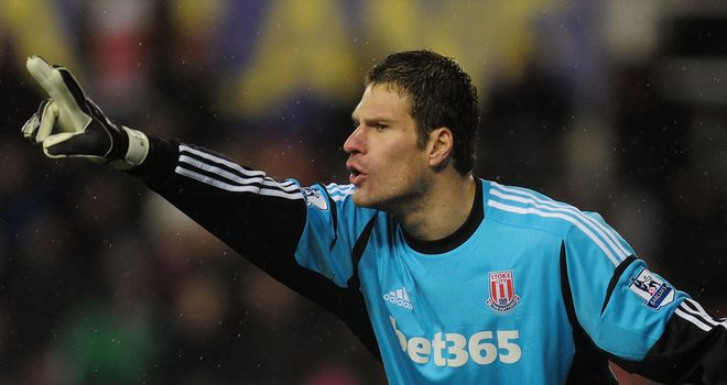Asmir Begovic: Flattered by speculation linking him with Liverpool and Manchester United