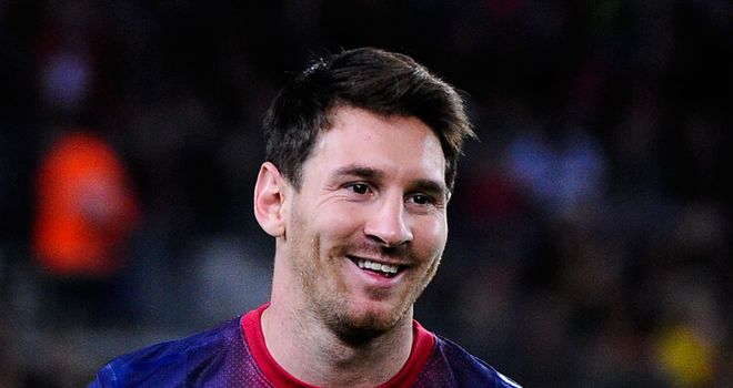 Lionel Messi: 'Out of this world'