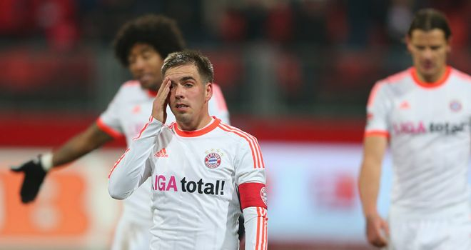 Frustration for Bayern Munich
