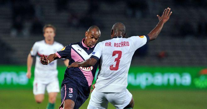 Henrique in action for Bordeaux