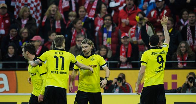 Dortmund took all three points at Mainz