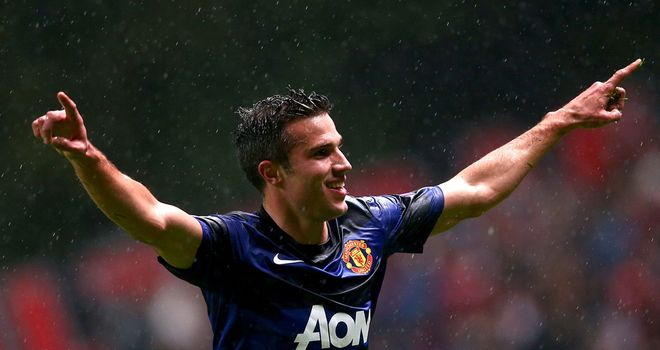 Robin van Persie: Can't stop scoring for Manchester United